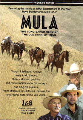 Mula: The Long-Eared Hero  of the Old Spanish Trail