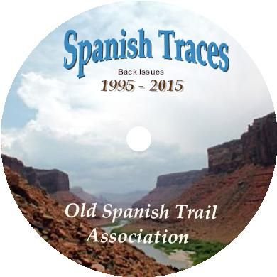 Back Issues CD of  Spanish Traces Journal